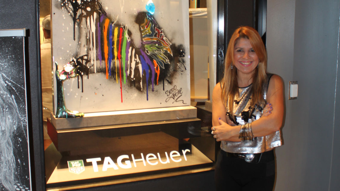 Soco Freire at Tag Heuer