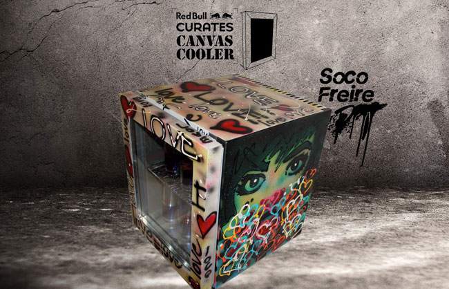 RedBull Canvas Cooler